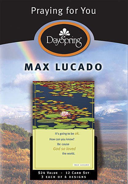Boxed Cards - Max Lucado - Praying for You