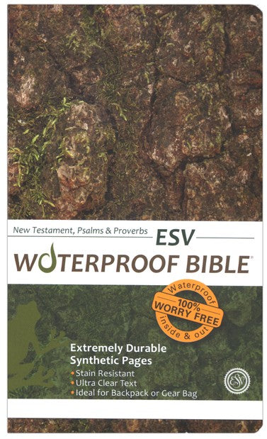 ESV New Testament, Psalms & Proverbs Waterproof Bible