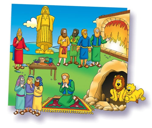 Little Folk - Daniel and Lions' Den Beginner Bible