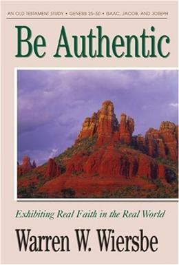 Be Authentic-Genesis 25-50