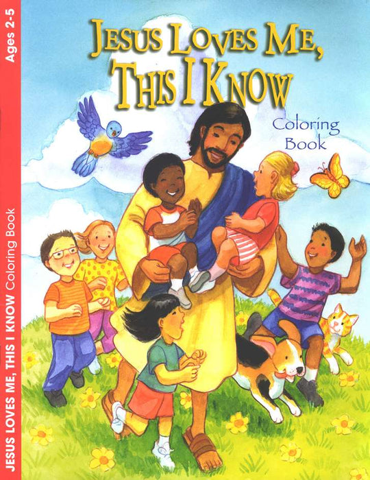 Jesus Loves Me This I Know Coloring Book