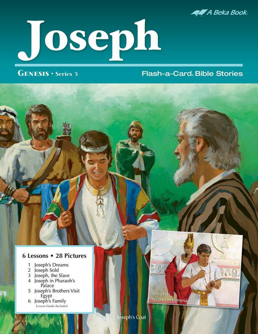 Joseph Flash-A-Card Bible Stories  - Book Format
