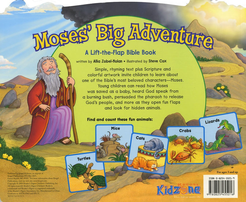 Moses' Big Adventure (A Lift-the-Flap Bible Book)