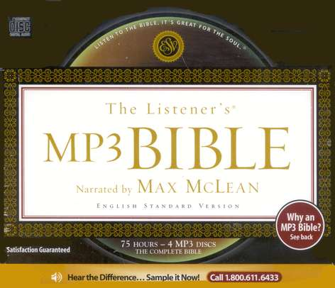 MP3 Audio Bible ESV
