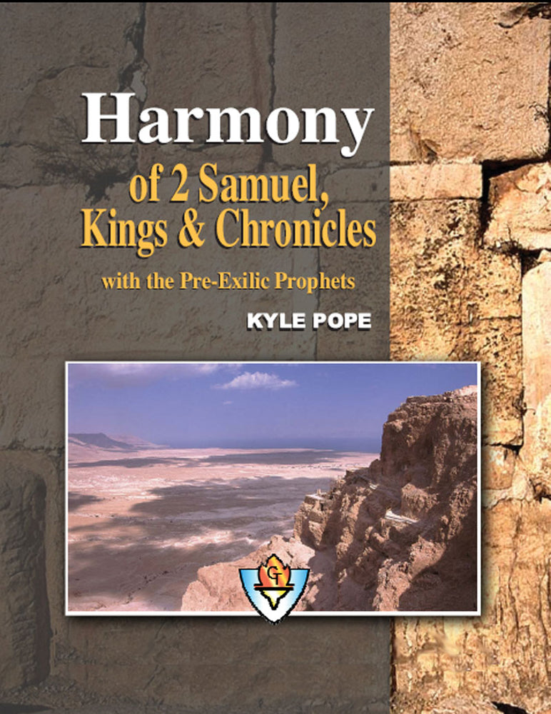 Harmony of 2 Samuel, Kings and Chronicles with the Pre-Exilic Prophets