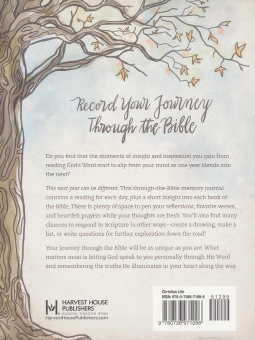 My Year in the Bible 365-Day Memory Journal