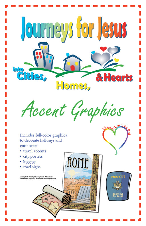 Journeys for Jesus Accent Graphics