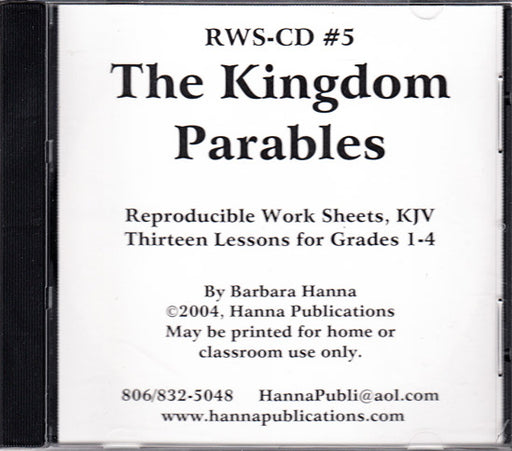 The Kingdom Parables CD