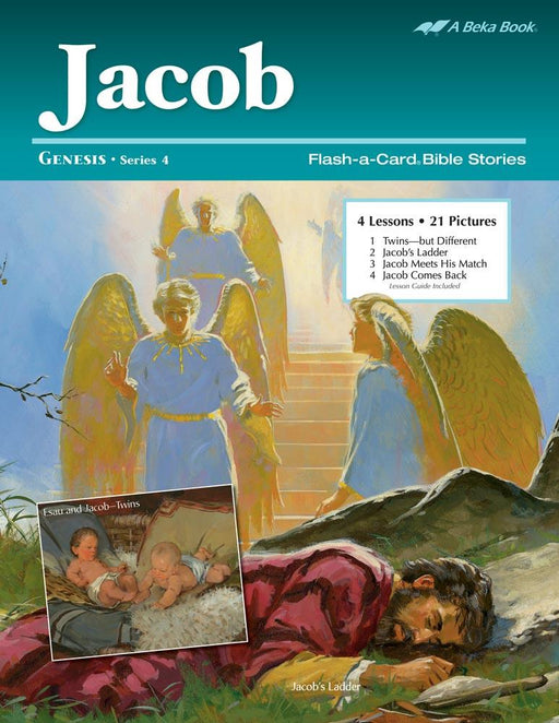 Jacob Abeka Flash-A-Card Bible Stories - Book Format
