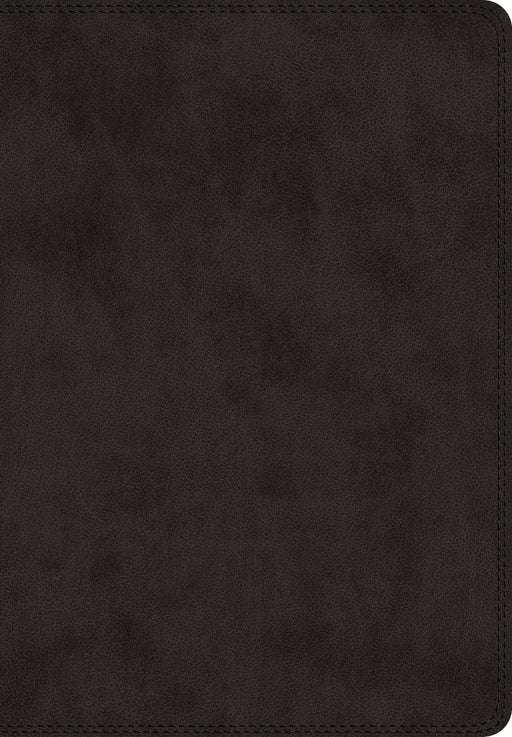 ESV Super Giant Print Bible, Black Genuine Leather