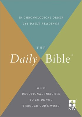 The Daily Bible - NIV (Paperback)