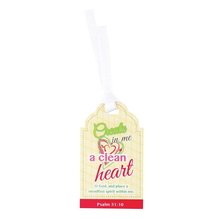 Bookmark Tag Create in Me a Clean Heart