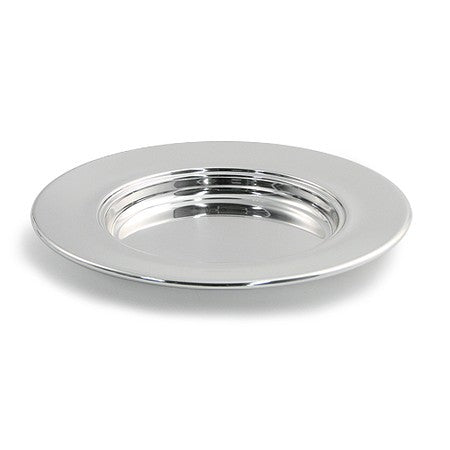 Bread Plate - Polished Aluminum