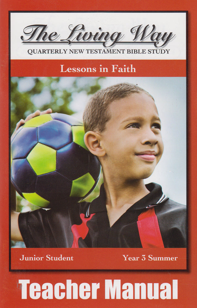 Junior 3-4 MAN - Lessons in Faith