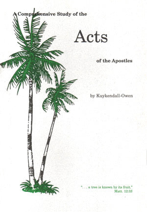 A Comprehensive Study Acts of the Apostles