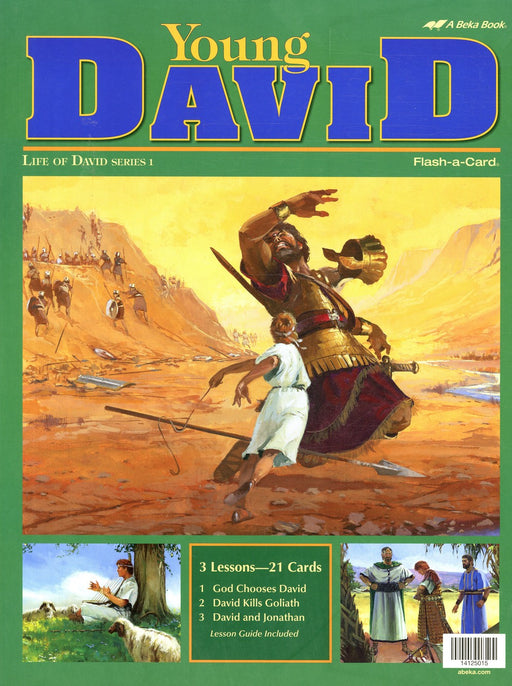 Young David (Life of David Series 1) - Abeka Flash-A-Card