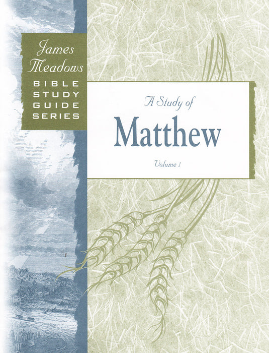 A Study of Matthew - Volume 1