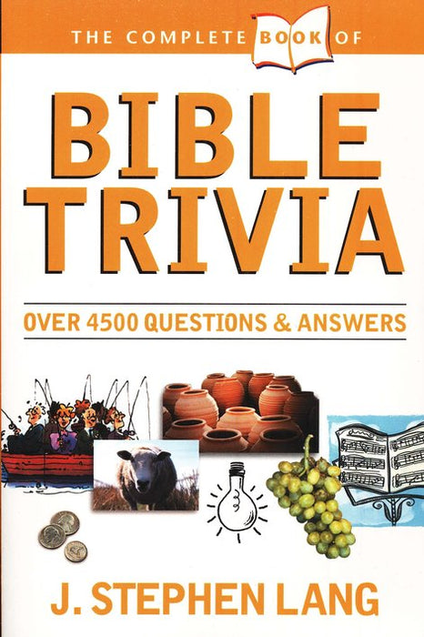 Complete Book of Bible Trivia