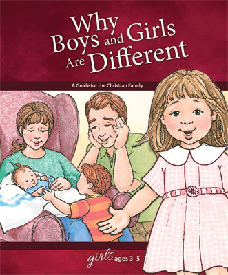 Why Boys and Girls are Different: For Girls Ages 3-5 - Learning About Sex Series
