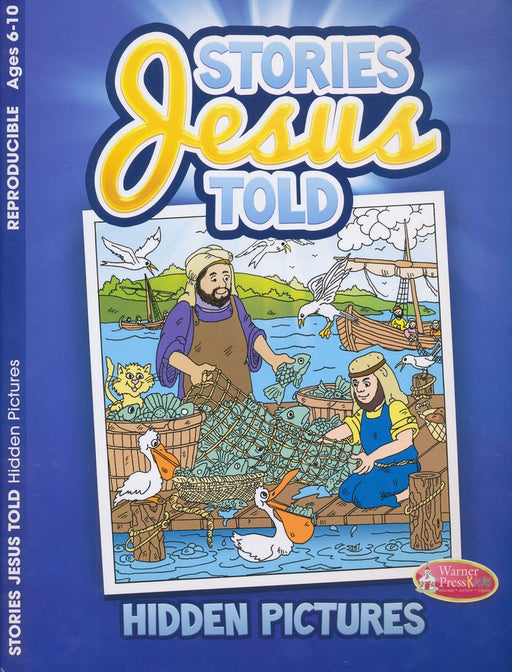 Stories Jesus Told Hidden Pictures