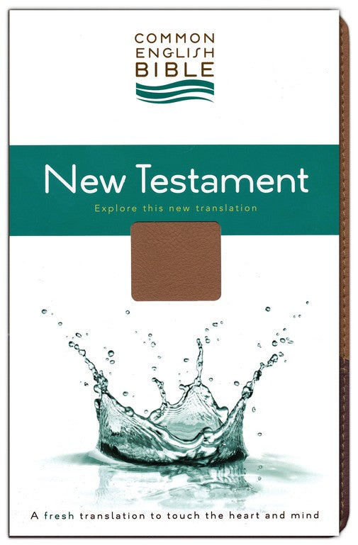 CEB New Testament Bible - Brown