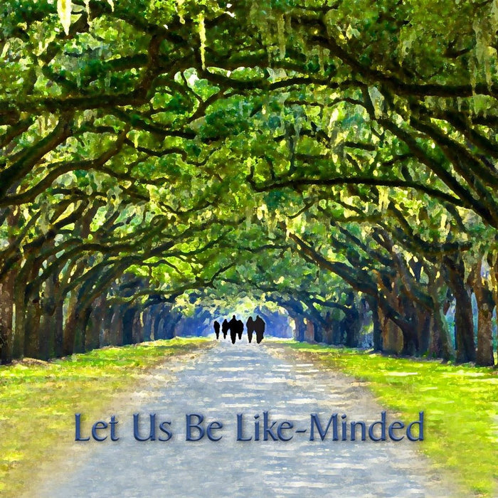 Let Us Be Like-Minded - Sumphonia CD