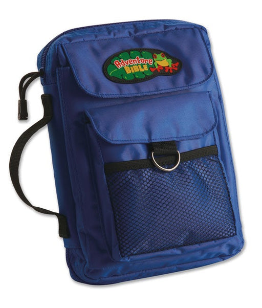 The Adventure Bible Cover Blue