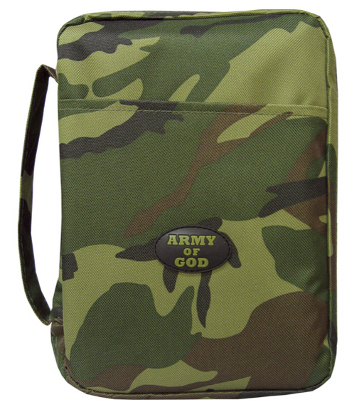Bible Cover Army of God Medium