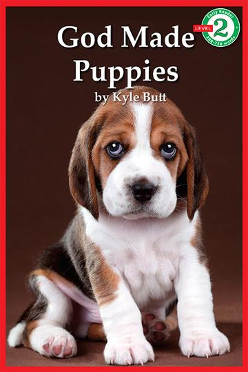 God Made Puppies Early Reader Series Level 2
