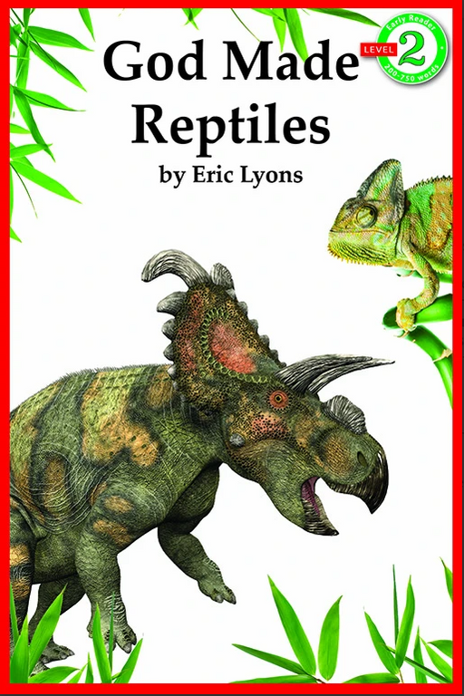 God Made Reptiles Early Reader Series Level 2