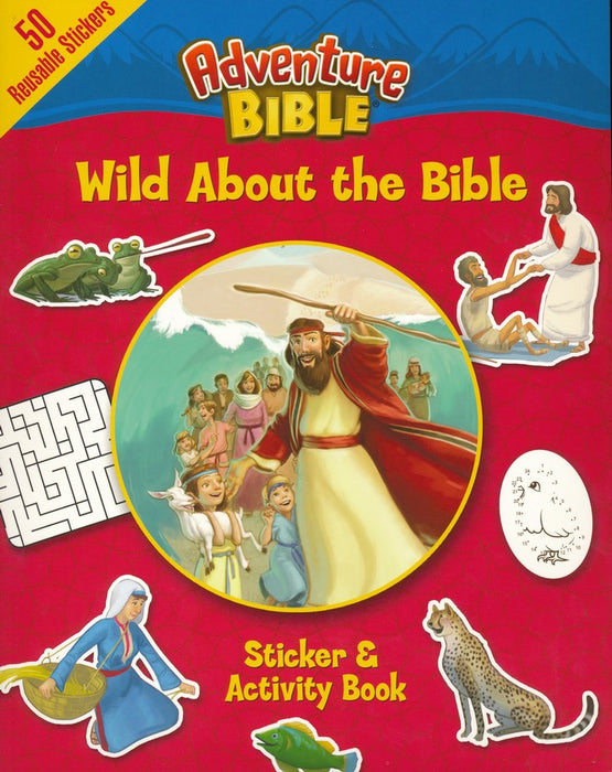 Wild About the Bible Sticker & Activity Book