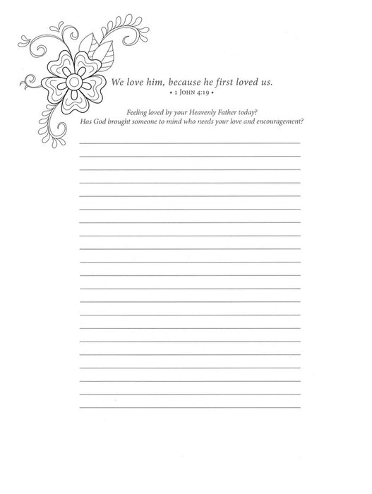 Beloved Scriptures Adult Coloring Book