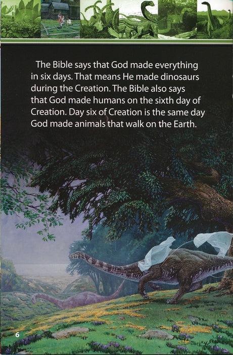 Amazing Dinosaurs Designed By God Advanced Reader Series