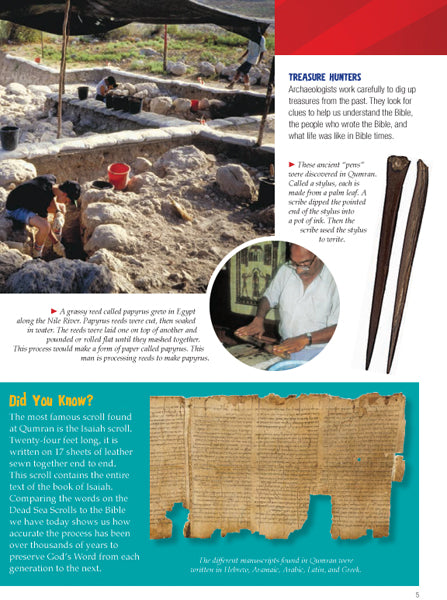 The Bible Explorer's Guide: 1000 Amazing Facts and Photos