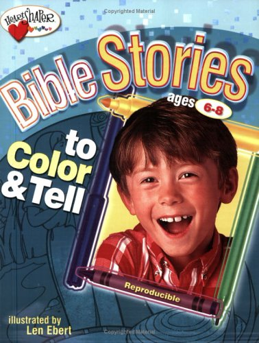 Bible Stories to Color & Tell ages 6-8