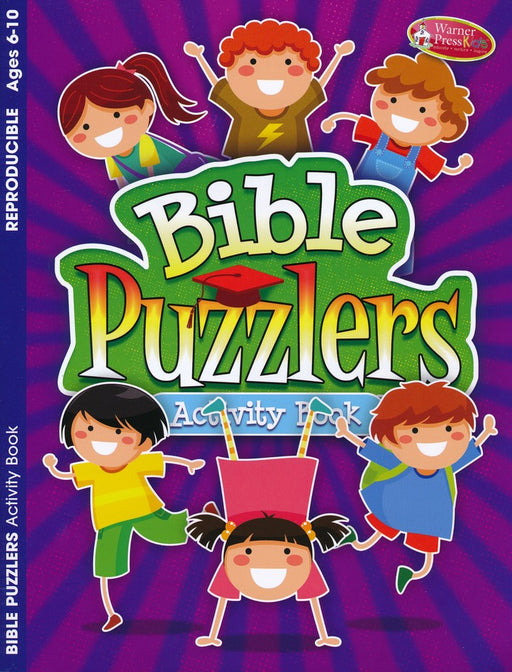 Bible Puzzlers Activity Book