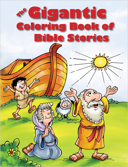The Gigantic Coloring Book of Bible Stories (reproducible)