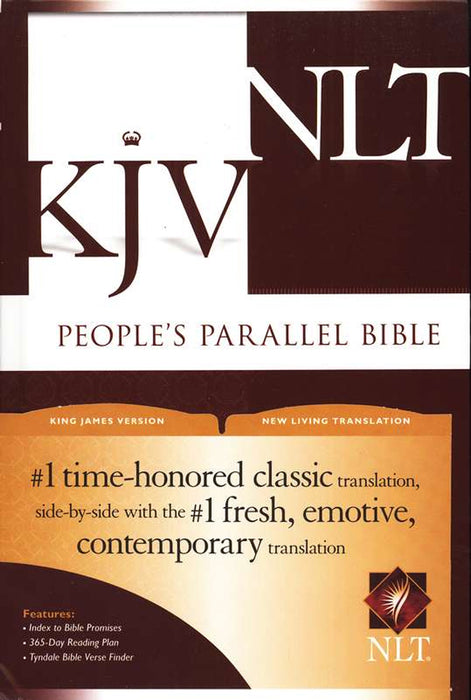 People's Parallel Bible-KJV/NLT - Hardcover