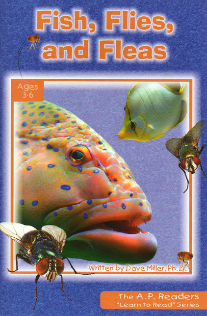 Fish, Flies and Fleas-Learn to Read Series Level 1