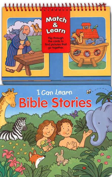Match & Learn:  I Can Learn Bible Stories