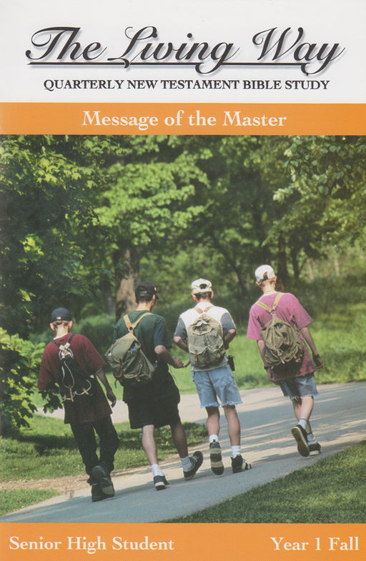 SENIOR 1-1 ST - Message of Master