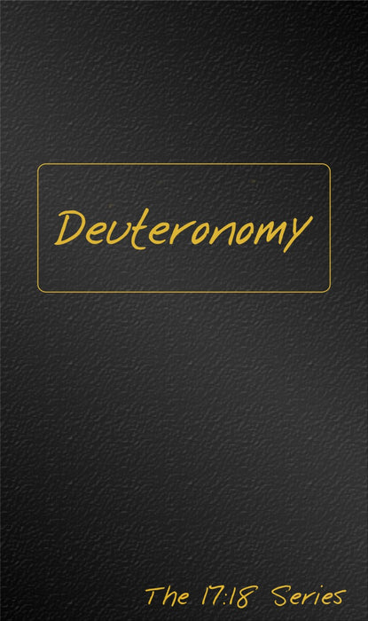 Journibles: Deuteronomy