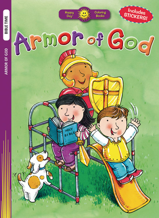 Armor of God Color & Sticker Book