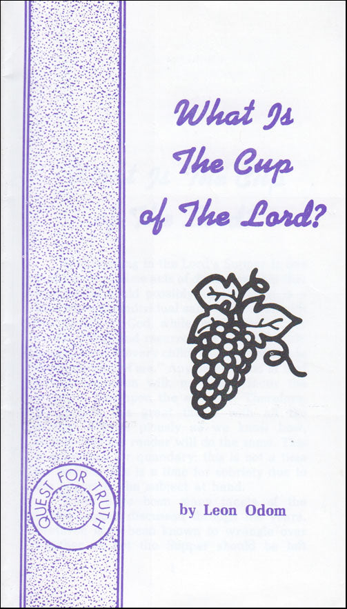 What Is the Cup of the Lord?