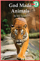 God Made Animals Early Reader Series Level 2