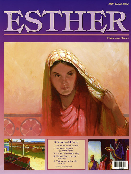 Esther - A Beka Flash-A-Cards