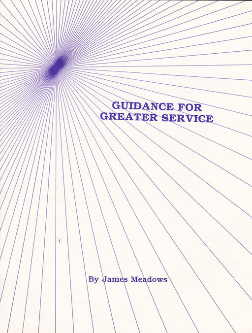 Guidance for Greater Service