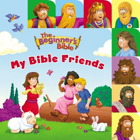 The Beginner's Bible My Bible Friends Tabbed Board Book