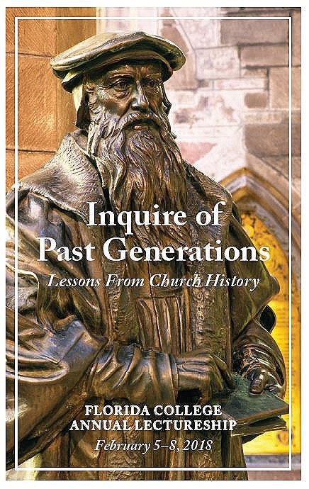 FC Lectures 2018 - Inquire of Past Generations