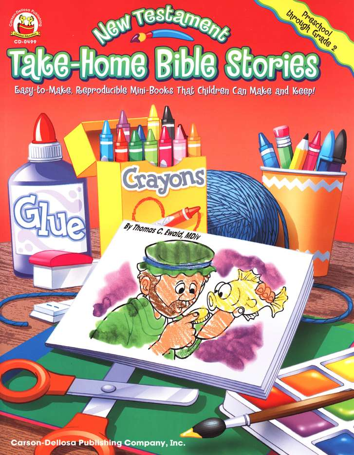 Take Home Bible Stories New Testament